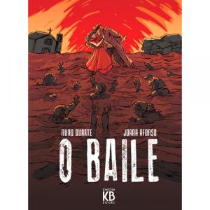Capa do livro O Baile, de Nuno Duarte e Joana Afonso. Kingpin Books