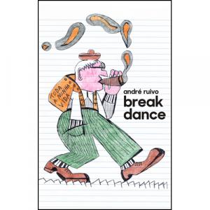 Capa do livro Break Dance, de André Ruivo. Chili com Carne