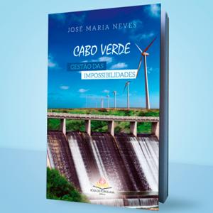 Capa do livro Cabo Verde: Gestão das Impossibilidades, de José Maria Neves. Rosa de Porcelana