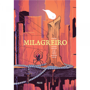 Capa do livro Milagreiro, de André Oliveira. Polvo Editora