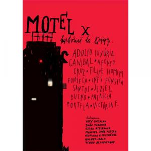 Capa do livro MOTELX - Histórias de terror. Escritório Editora