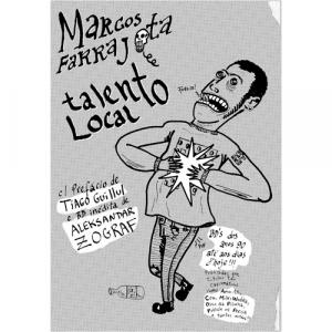 Capa do livro Talento Local, de Marcos Farrajota. Chili com Carne