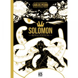 Capa do livro Solomon (Salomão) Royal Edition, de Carlos Pedro. Kingpin Books