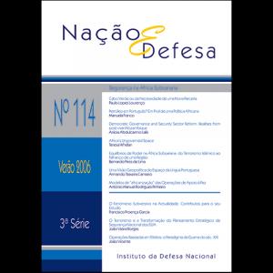 Capa da revista Nação & Defesa nº114 - Segurança na África Subsariana