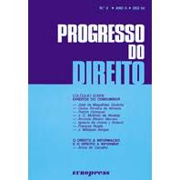 Capa do livro Progresso do Direito Nº3. Europress Editora