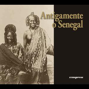 Capa do livro Antigamente o Senegal. Europress Editora