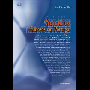Capa do livro Suicídios Famosos em Portugal, de José Brandão. Europress Editora
