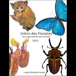 Capa do livro Diário das Florestas - Ano Internacional das Florestas 2011, de Luísa Ferreira Nunes
