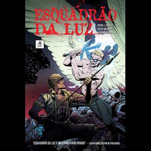 Capa do livro Esquadrão da Luz, de Peter J. Tomasi e Peter Snejbjerg