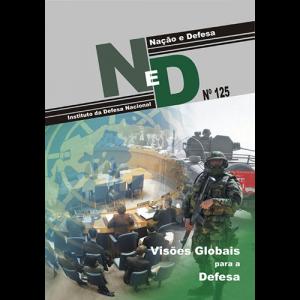 Capa da revista Nação & Defesa nº125 - Visões Globais para a Defesa. Instituto da Defesa Nacional
