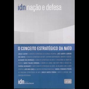 Capa da revista Nação & Defesa nº126 - O Conceito Estratégico da NATO. Instituto da Defesa Nacional