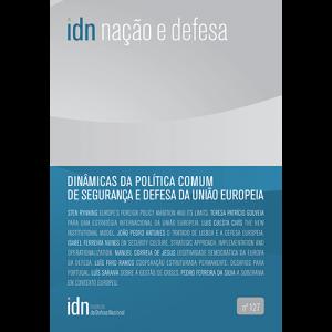 Capa da revista Nação & Defesa nº127 - Dinâmicas da Política Comum de Segurança e Defesa da União Europeia. Instituto da Defesa Nacional