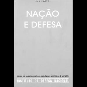 Capa da revista Nação & Defesa nº83. Instituto da Defesa Nacional