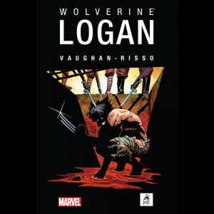 Capa do livro Wolverine: Logan, de Vaughan e Risso. G Gloy Editora. Marvel