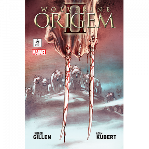 Capa do livro Wolverine Origem II, de Kieron Gillen e Adam Kubert. G. Floy Editora. Marvel