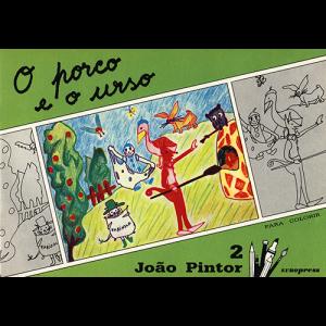 Capa do livro O Porco e o Urso, colecção João Pintor. Europress