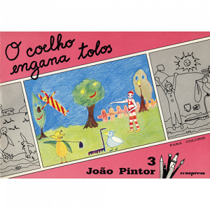 Capa do livro O Coelho Engana Tolos, colecção João Pintor. Europress