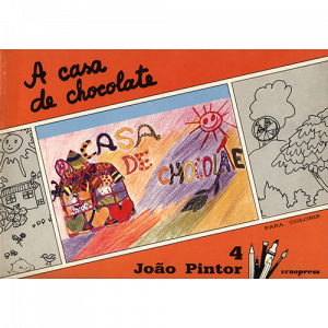 Capa do livro A Casa de Chocolate, colecção João Pintor. Europress
