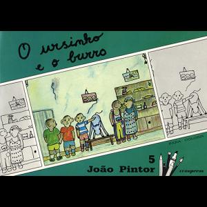 Capa do livro O Ursinho e o Burro, colecção João Pintor. Europress