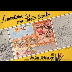 Capa do livro Aventura em Porto Santo, colecção João Pintor. Europress