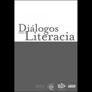 Capa do livro Diálogos com a Literacia. Editora Acontecimento