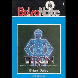 Capa do livro Tron, de Brian Daley. Europress Editora - BolsoNoite