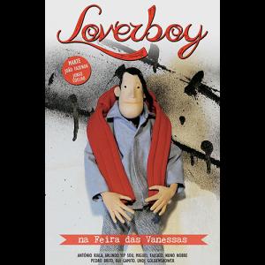 Capa do livro Loverboy na Feira das Vanessas. Chili com Carne