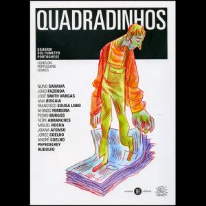 Capa do livro Quadradinhos - Looks on Portuguese Comics. Chili com Carne