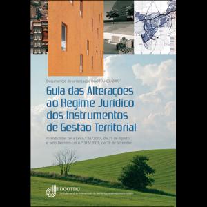 Capa do livro Guia das Alterações ao Regime Jurídico dos Instrumento de Gestão Territorial. DGOTDU