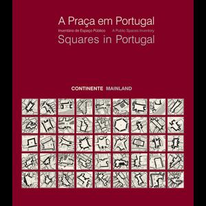 Capa do livro A Praça em Portugal. DGOTDU