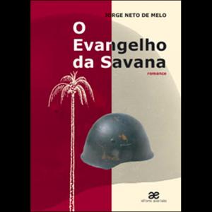 Capa do livro O Evangelho da Savana, de Jorge Neto de Melo. Editores Associados