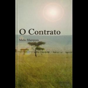 Capa do livro O Contrato, de Melo Marques. Evolua Edições