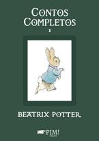 Capa do livro Contos Completos 1, de Beatrix Potter. PIM! edições