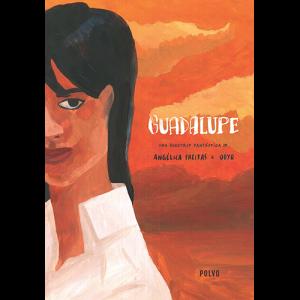 Capa do livro Guadalupe - Uma Roadtrip Fantástica de Angélica Freitas e Odyr. Polvo Edições