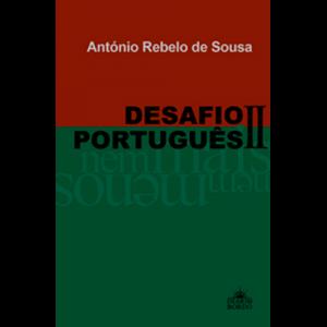 Capa do livro Desafio Português II, de António Rebelo de Sousa. Diário de Bordo Editores