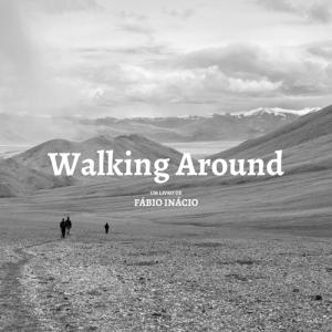 Capa do livro Walking Around, de Fábio Inácio
