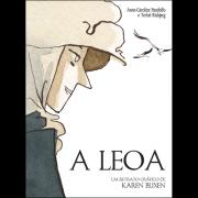 A Leoa: Um Retrato Gráfico de Karen Blixen, de Anne-Caroline Pandolfo e Terkel Risbjerg